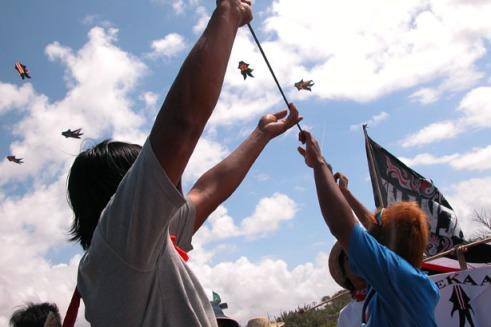 International Bali Kite Festival. (Photo by Maria Bakkalapulo)